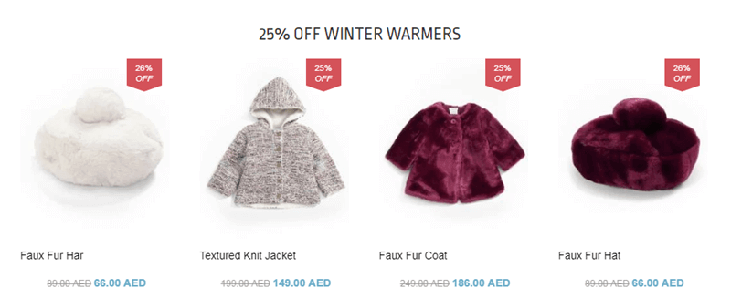 Winter Warmers for Kids with 25% OFF