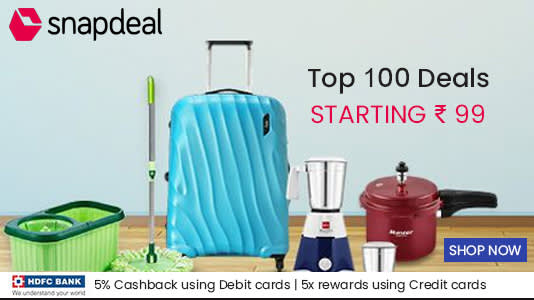 Snapdeal Coupon and Offers