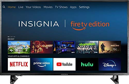 Insignia NS 50DF710NA19 50 inch 4K Ultra HD Smart LED TV HDR   Fire TV Edition nlwptv