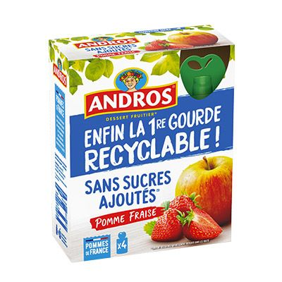 Andros – Gourdes recyclables 100000 0