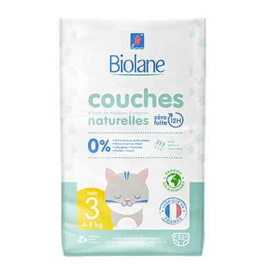 Biolane – Couches Taille 3 et + 4 1