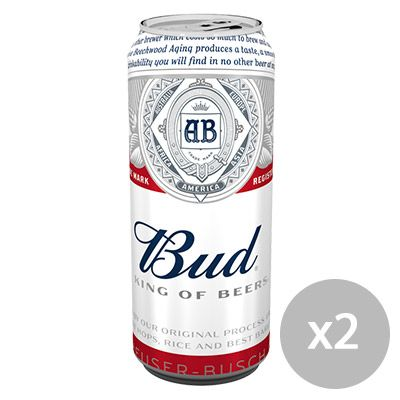 Bud – King of Beers* (50cl) 100000 0