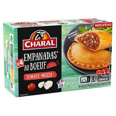 Charal – Empanadas au bœuf x4 surgelés 4 3