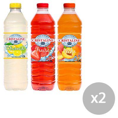 Cristaline au jus de fruits – Eaux plates aromatisées 4 0