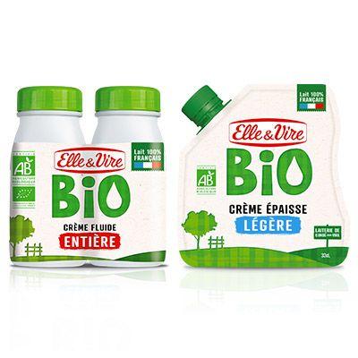 Elle & Vire Crème Bio 4 2