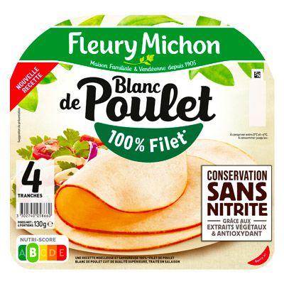 Fleury Michon – Blanc de Poulet Conservation Sans Nitrite 4 2