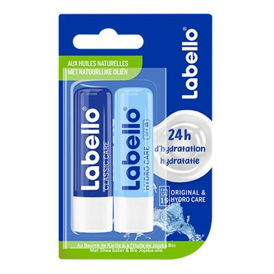 LABELLO – Sticks à Lèvres Labello DUO 2x4,8g 4 0