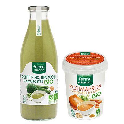 Les recettes La Ferme d'Anchin – Soupes fraîches  4 2