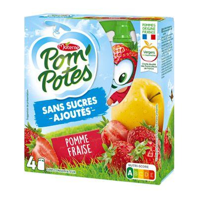 Pom'Potes® Sans Sucres Ajoutés x4 4 1