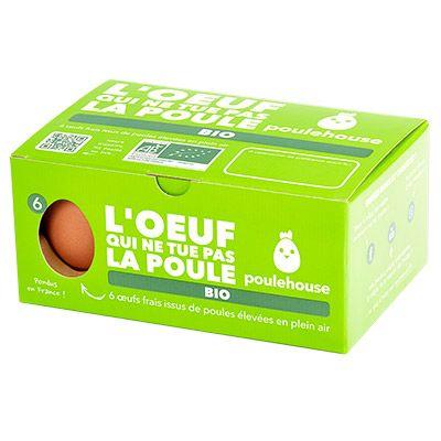 Poulehouse – Œufs BIO x6 4 0