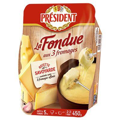 Président – Fondue aux 3 Fromages Président 4 3