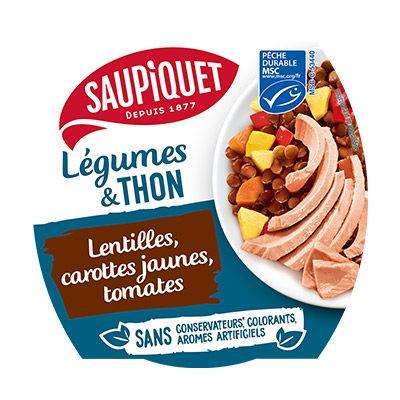 Saupiquet – Légumes & Thon 100000 0