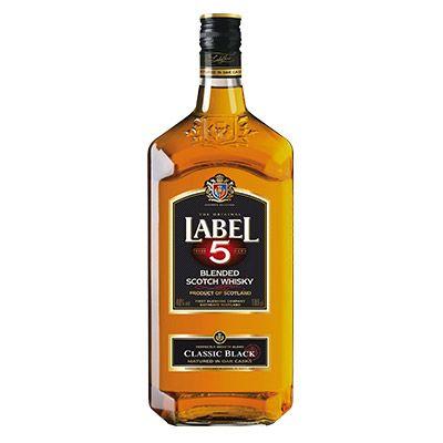Scotch Whisky LABEL 5 – Classic Black 1L 4 1