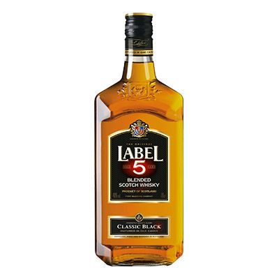 Scotch Whisky LABEL 5 – Classic Black 70 cL 4 0