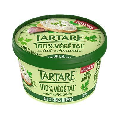 Tartare 100% végétal*- Ail et Fines Herbes 140G 4 0