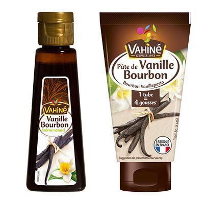 Vahiné - Arôme Naturel de Vanille Bourbon 50ml & Pâte de vanille 50g 100000 0