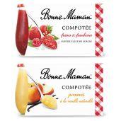 Bonne Maman - Pack de Compotées 2x130g 4 1