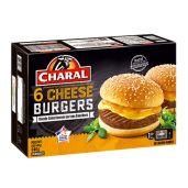 Charal – Cheeseburgers x6 surgelés 4 0