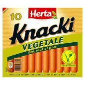 HERTA® - KNACKI® VEGETALE X10 4 0