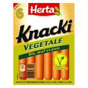 HERTA® - KNACKI® VÉGÉTALE X6 4 3