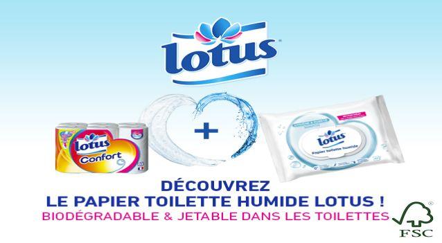 Bons De Réduction Gratuits Lotus Papier Toilette Humide à