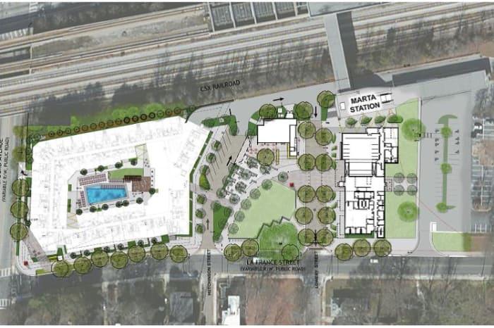 Edgewood Candler Park Station Tod Official Site Atlanta Ga