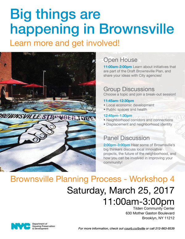 Brownsville Neighborhood Planning Process Official Site