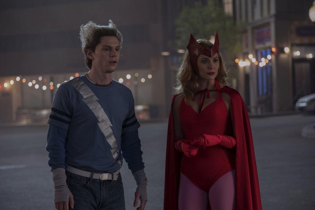 Wandavision Wanda und Pietro