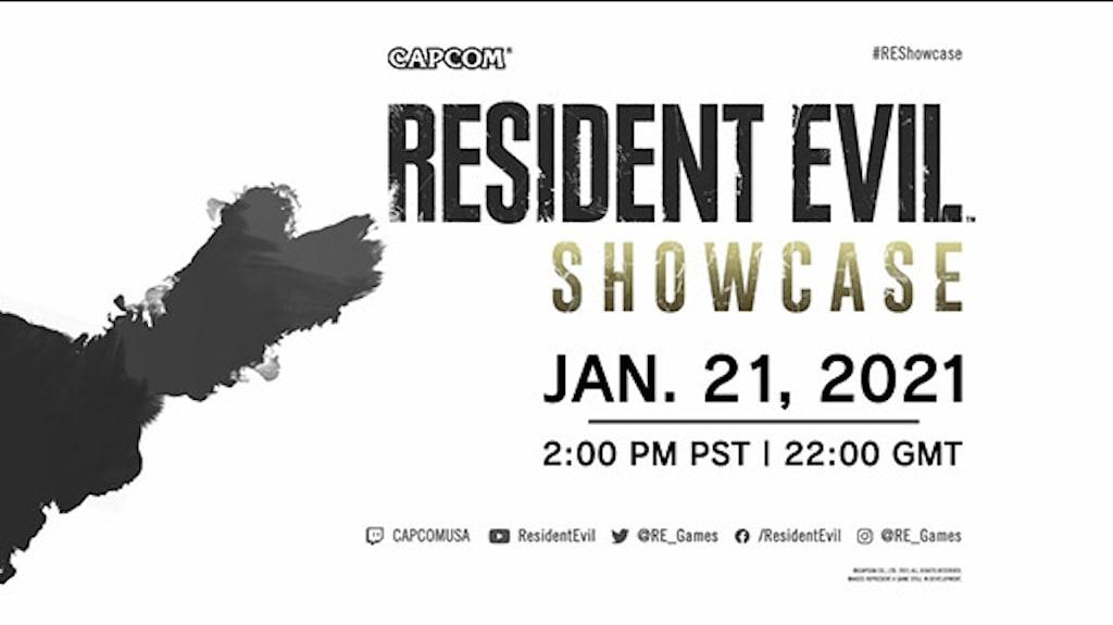 Resident Evil Showcase Invitation/Capcom