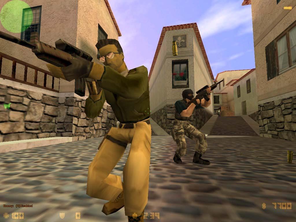 Seit dem Jahr 2000 schickt Counter-Strike je fünf Spieler gegeneinander ins Gefecht.