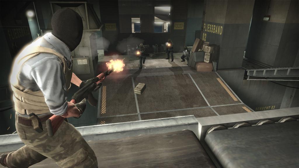 Auch in Counter-Strike: Global Offensive spielen Terroristen gegen Anti-Terroristen.
