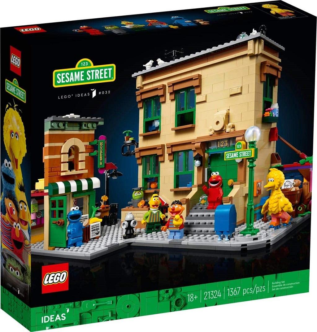 Sesamstrasse Lego