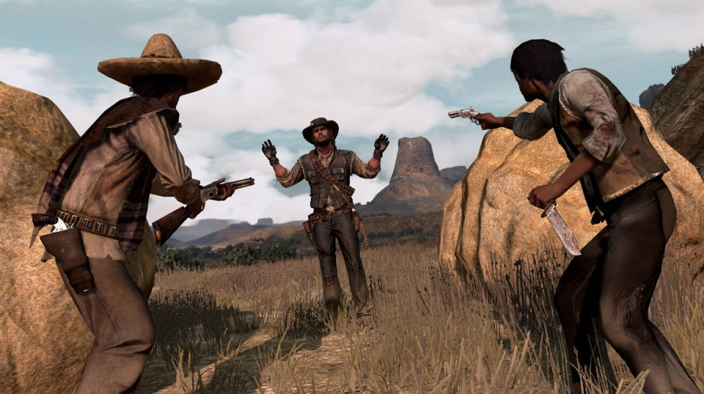 Red dead redemption mexiko