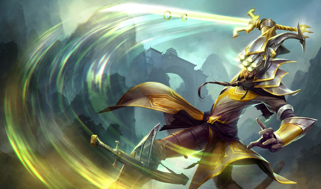 League of Legends startete 2009 mit 40 Champions, darunter Schwertkämpfer Master Yi.