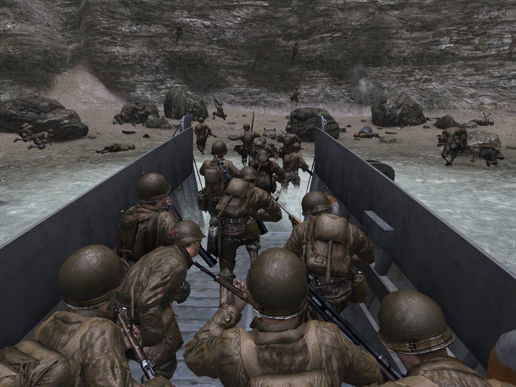 Das erste Call of Duty aus dem Jahr 2003