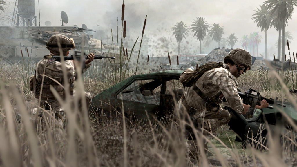 Mit dem vierten Call of Duty, Modern Warfare, beginnt der endgültige Siegeszug der Marke.
