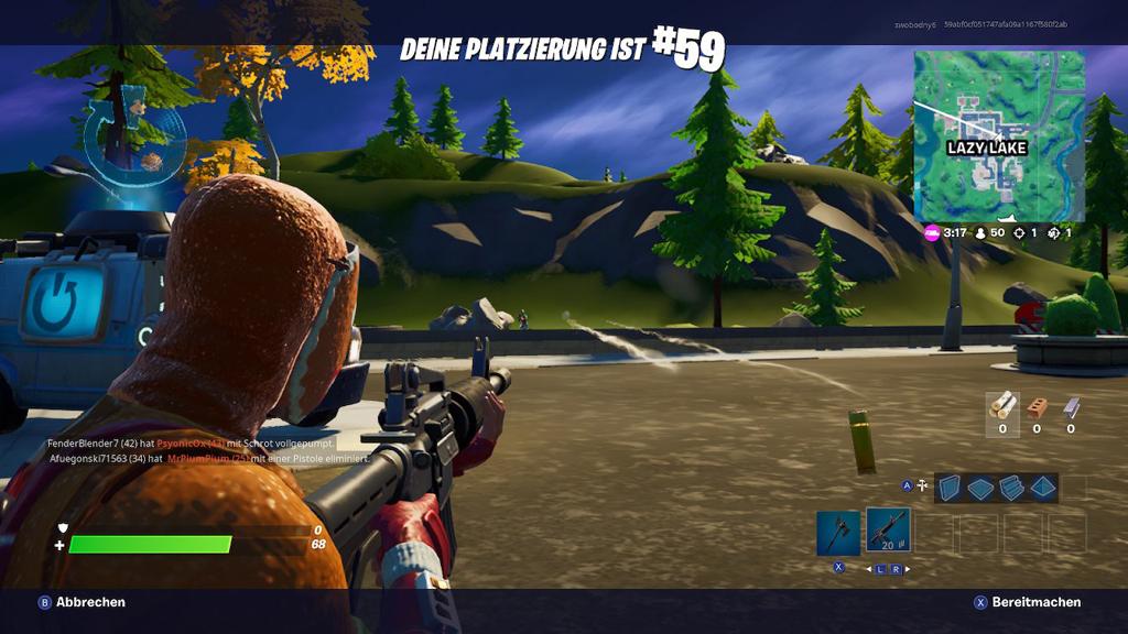 Wer stirbt, kann den Fortnite-Überlebenden beim Spielen zusehen