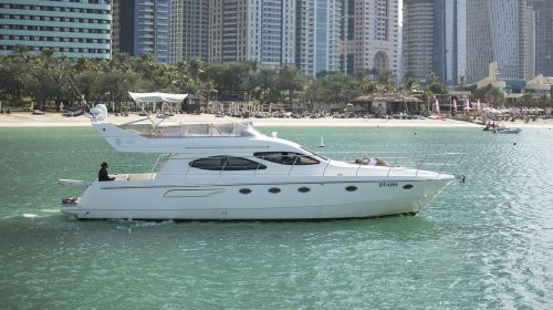 Hire Cozmo 55 Feet Luxury Carnevali Yacht