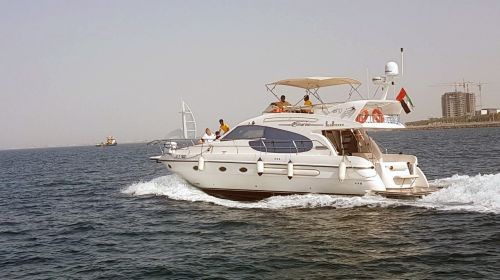 Hire Cozmo 52 Feet Luxury Sea Breeze Yacht in Dubai