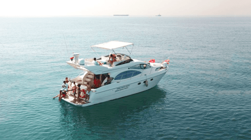 Hire Cozmo 50 Feet Azimut Yacht in Dubai