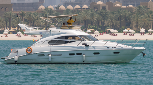 Hire Cozmo 45 Feet Sealine Luxury Yacht
