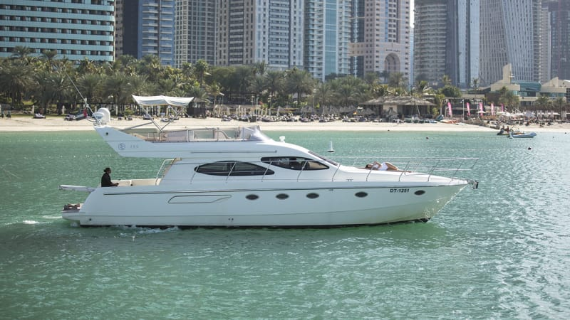 Hire Cozmo 55 Feet  Luxury Carnevali Yacht