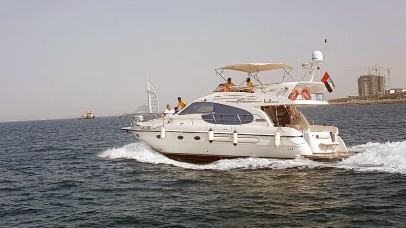 Hire Cozmo 52 Feet Luxury Sea Breeze Yacht in Dubai