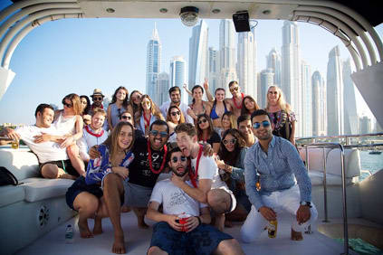 Team Building Activities on Chartered Yacht