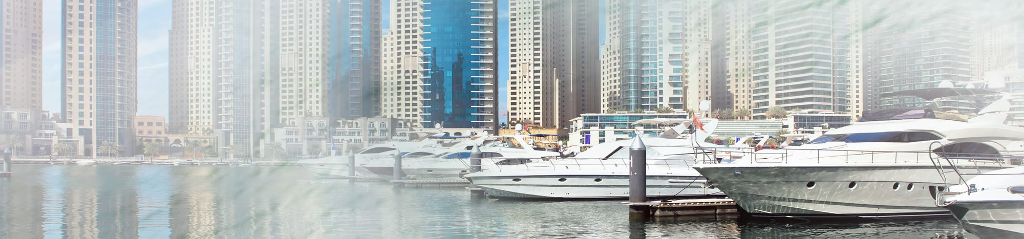 Yachts Berthed at Dubai Marina For Rental
