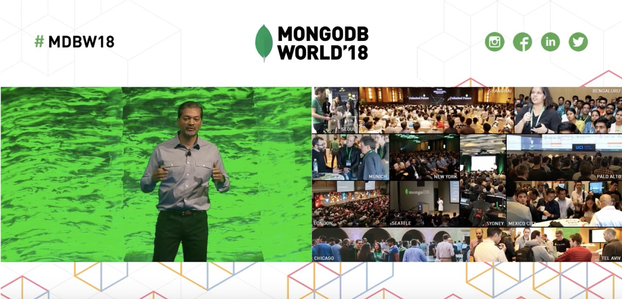 MongoDB World 18 Keynote'