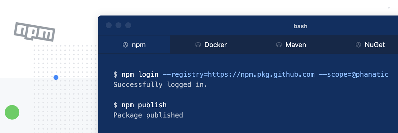 GitHub gets into npm package hosting and AWS Lambda now supports