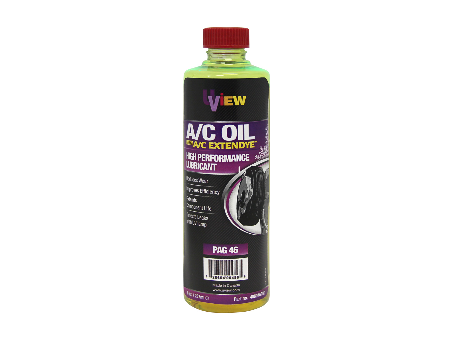 488046PBD | PAG 46 Oil with A/C ExtenDye - CPS Products Inc