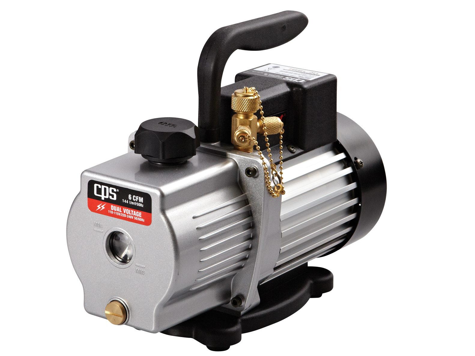 VP6S | Pro-Set® 6 CFM Vacuum Pump - CPS Products Inc