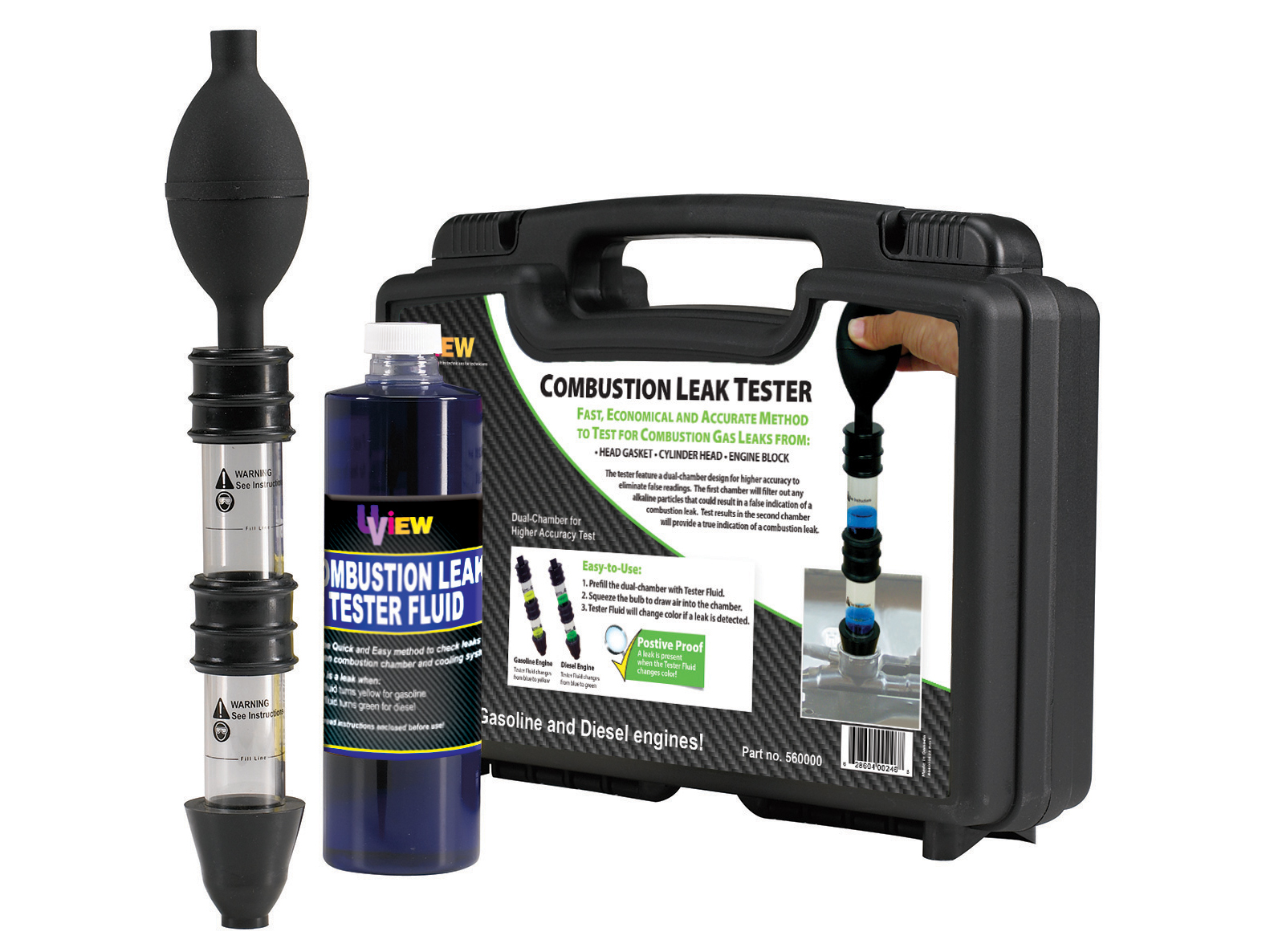 Combustion Leak Tester (Gas Detector) for Technicians